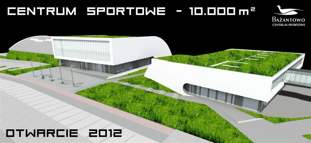 "© Millenium Inwestycje Sp. z o.o.; sport and recreation center in the ""Bażantów"" housing estate"