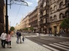 © City Hall of Katowice; 3 Maja Street after the modernization