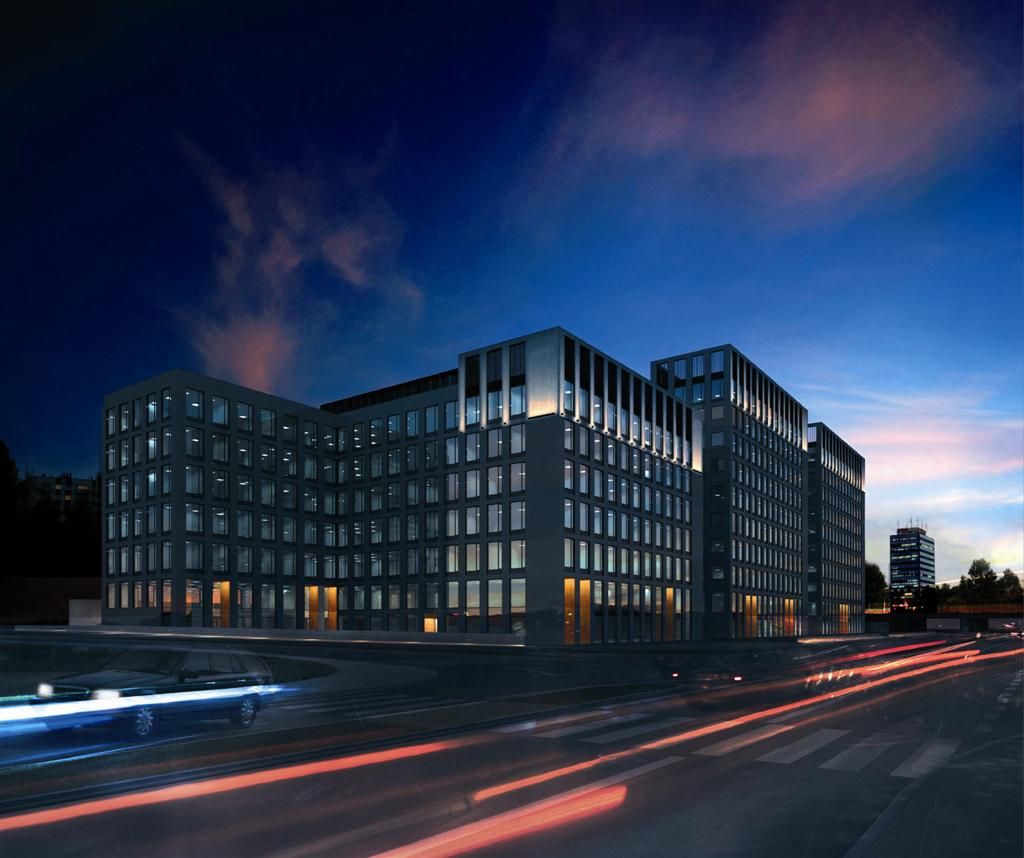 © Echo Investment; office complex planned on Francuska St.