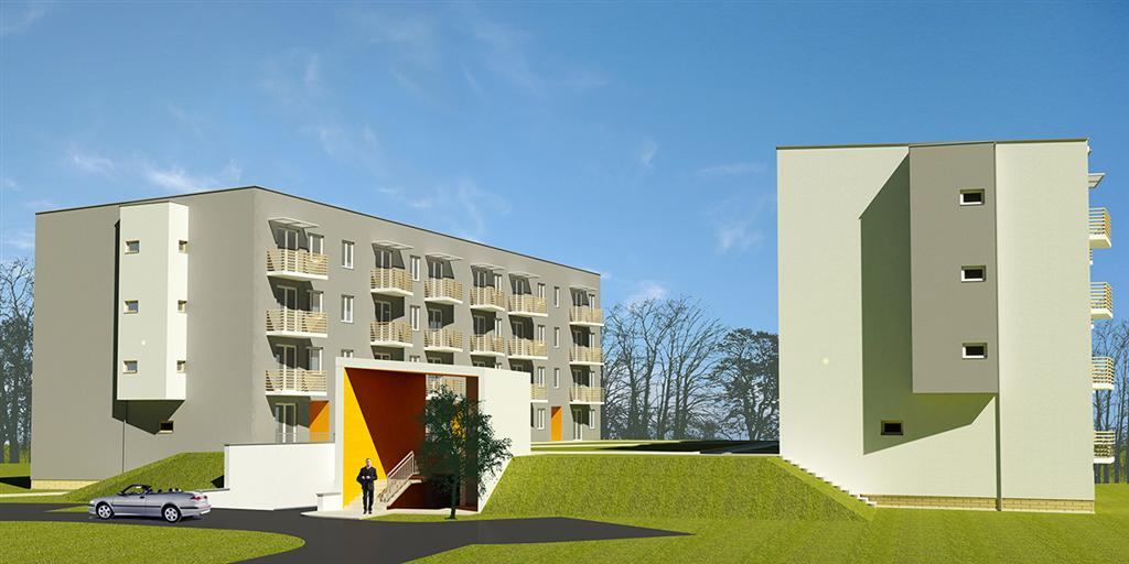 © PHP Exland Sp. z o.o.; third stage of the housing project on Koszykowa St.