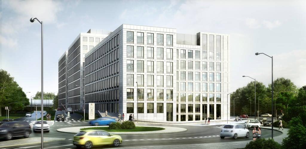 © Echo Investment; A4 Business Park planned on Francuska St.