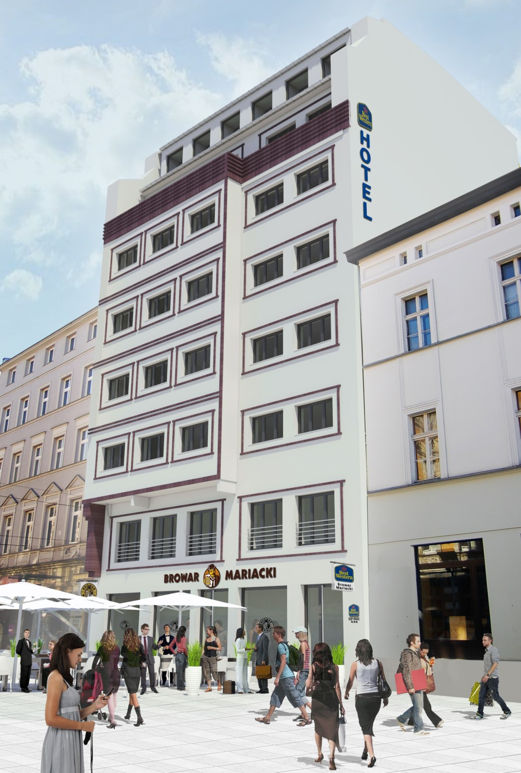 © GC Investment; Best Western Browar Mariacki