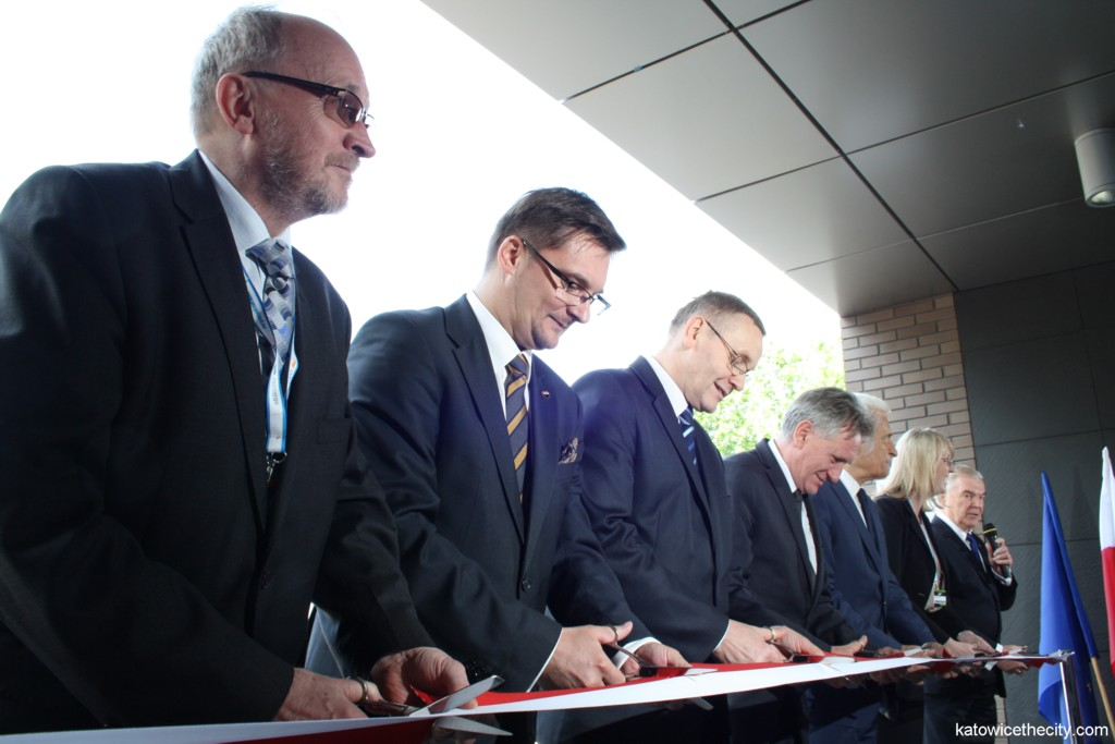 Opening of the Clean Coal Technologies Center, cutting ribbon ceremony