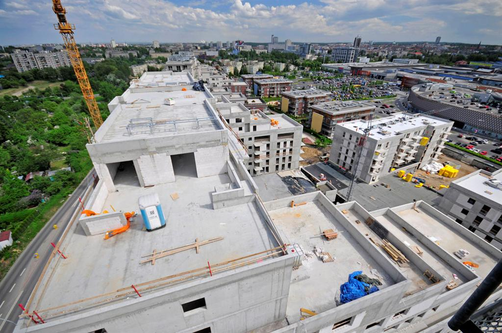 © Immofinanz Group; topping out of the C3 building
