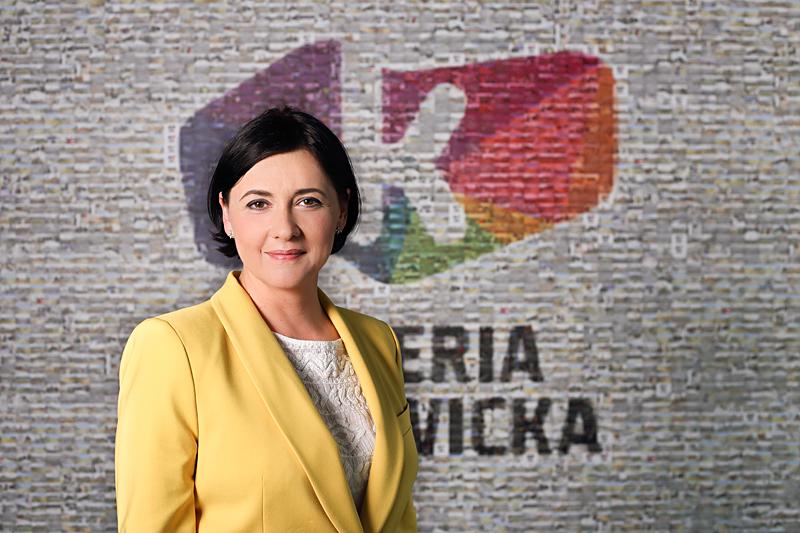 © Neinver Poland; Agnieszka Pyzanowicz-Francke, newly appointed manager of Galeria Katowicka