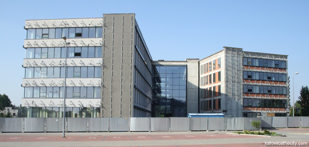 Passive building of the Science and Technology Park in Euro-Centrum, current state