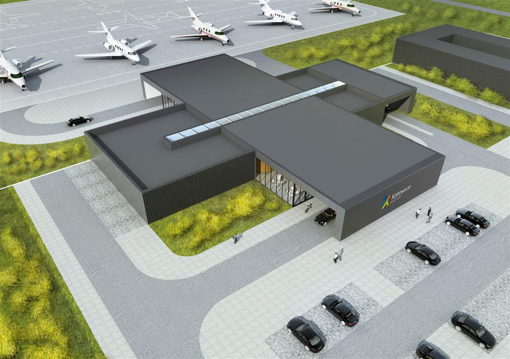 General aviation terminal planned for Katowice Airport ...