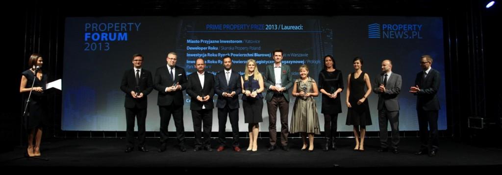 © PTWP SA Group; Prime Property Prize 2013 gala