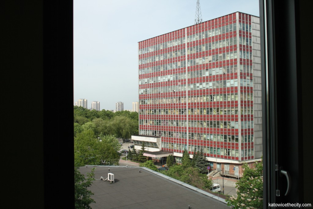 Office building of the Silesian Voivodeship Office, view from Francuska Office Center