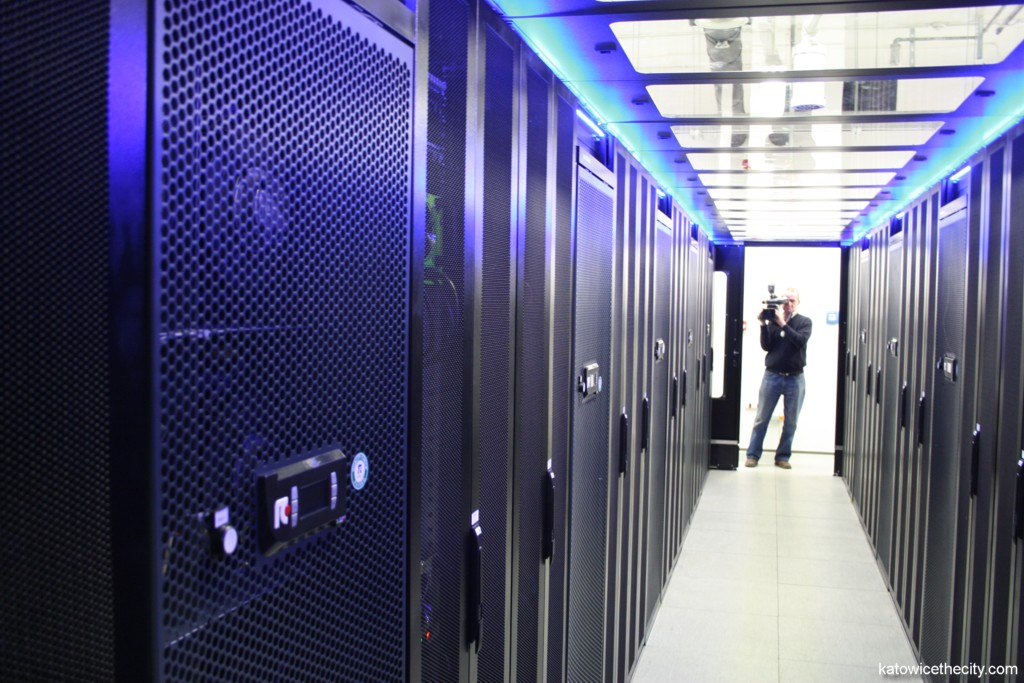 Data center in the passive building of the Science and Technology Park of Euro-Centrum