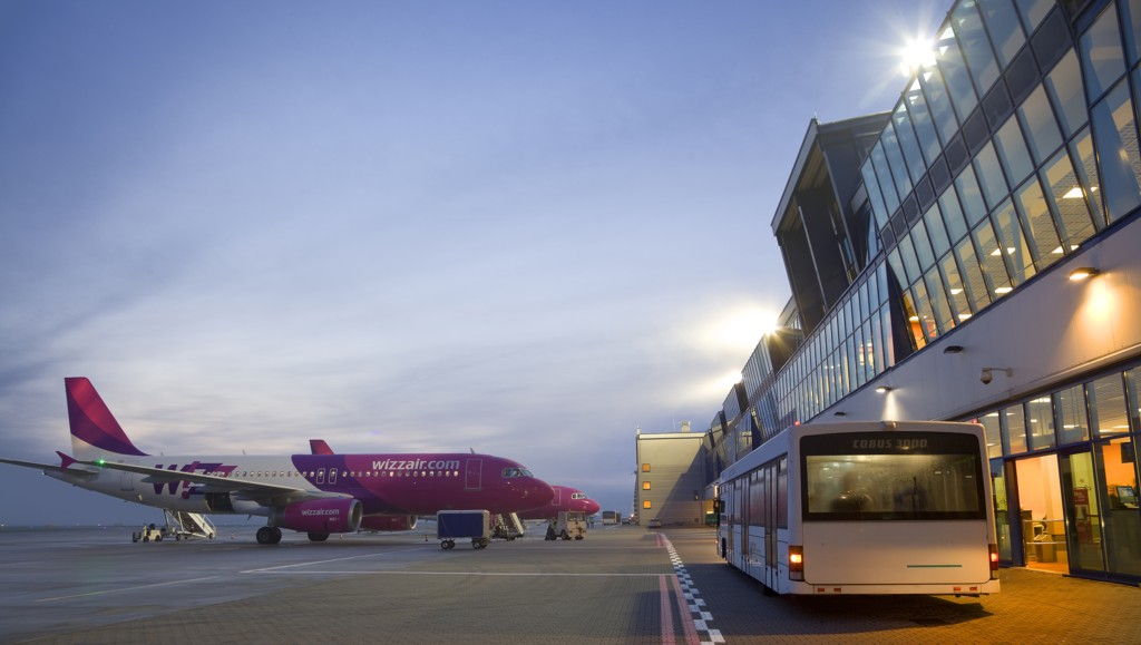 © Wizz Air; aircrafts of Wizz Air at the Katowice International Airport