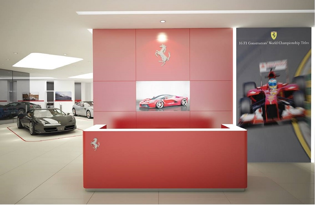 2014 Ferrari 458 Spider >> Grupa Pietrzak expands Ferrari showroom – Katowice the City