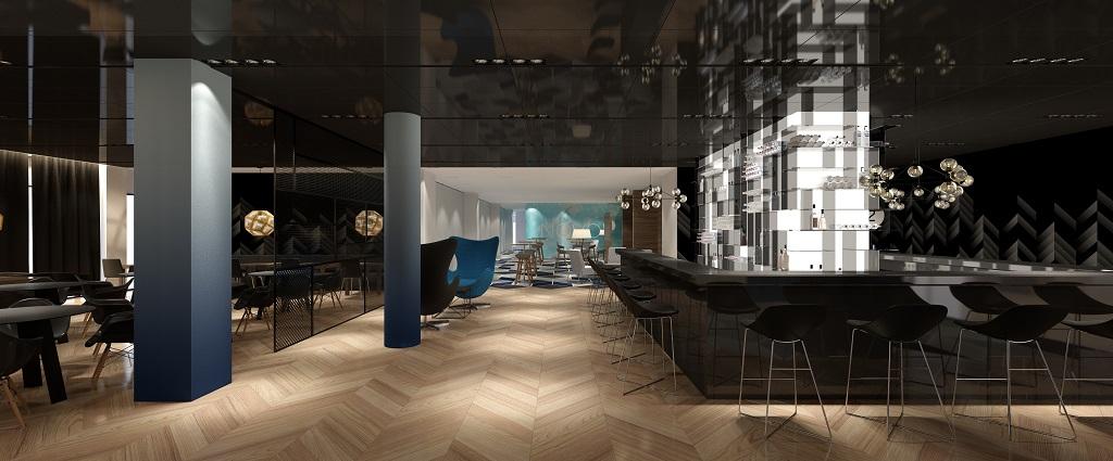 © Novotel Katowice Centrum; visualization of new interiors