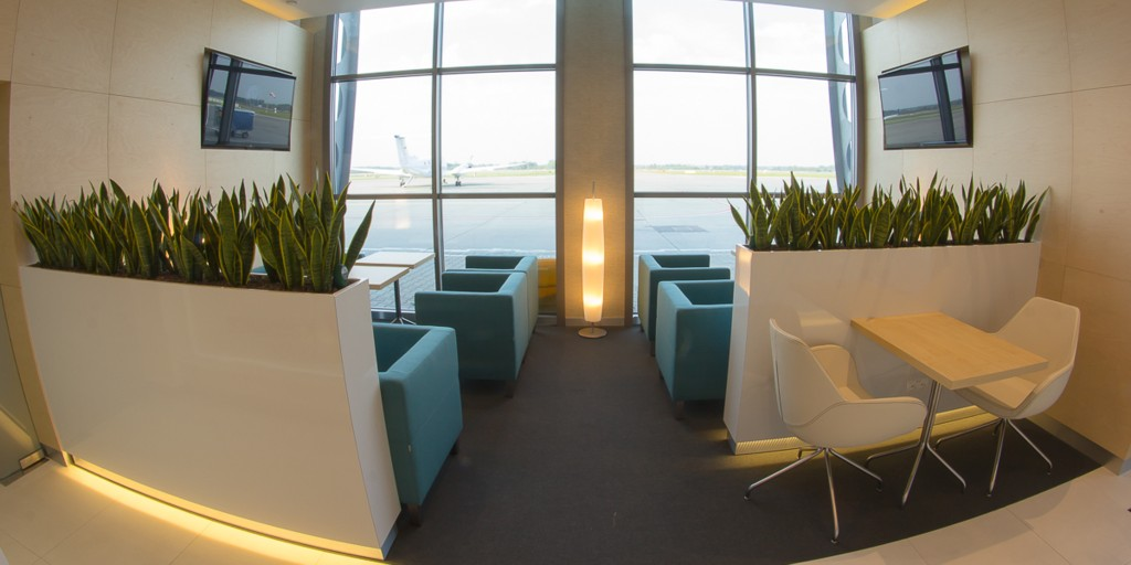© Katowice International Airport; business lounge in the A terminal