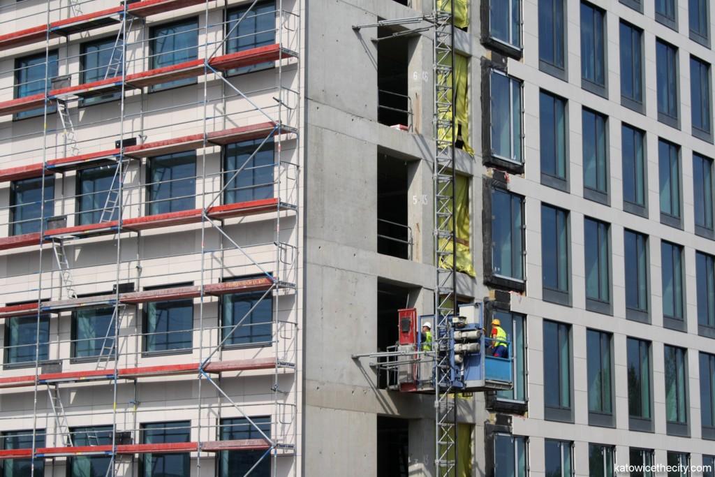 A4 Business Park under construction