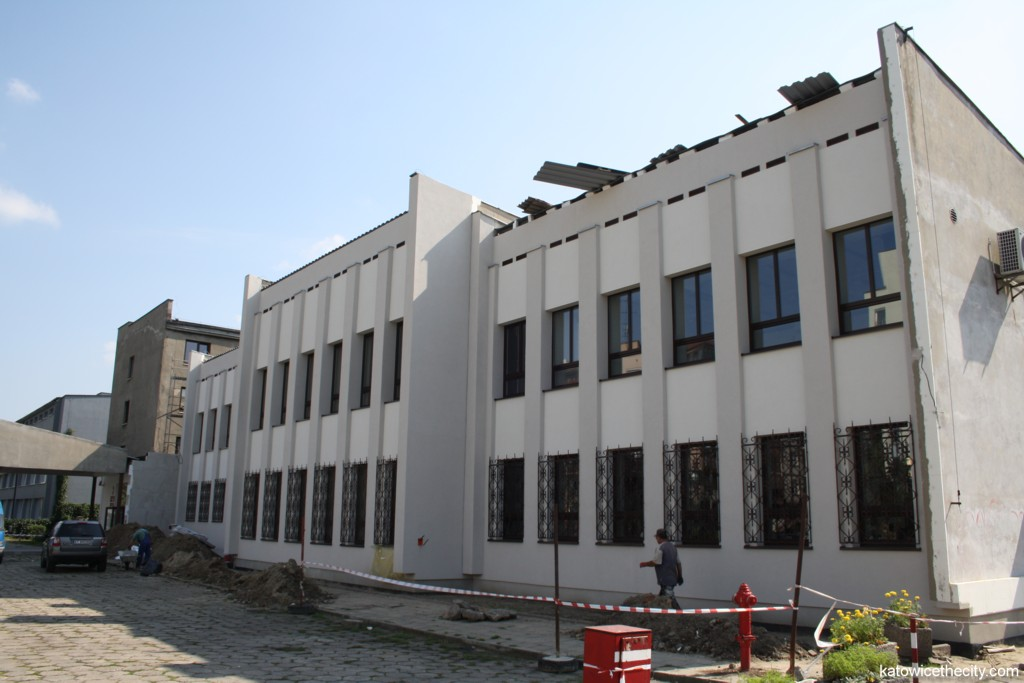 Educational building of the Academy of Music situated at 27 Krasińskiego St.