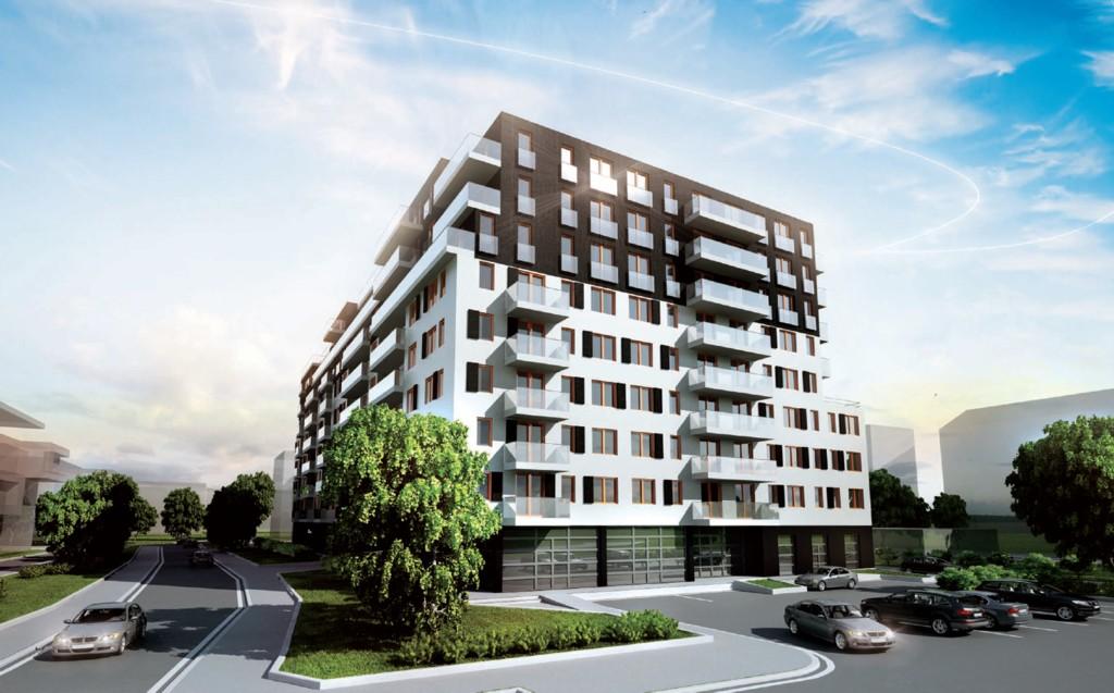 HM Inwest; residential building on Pułaskiego St.