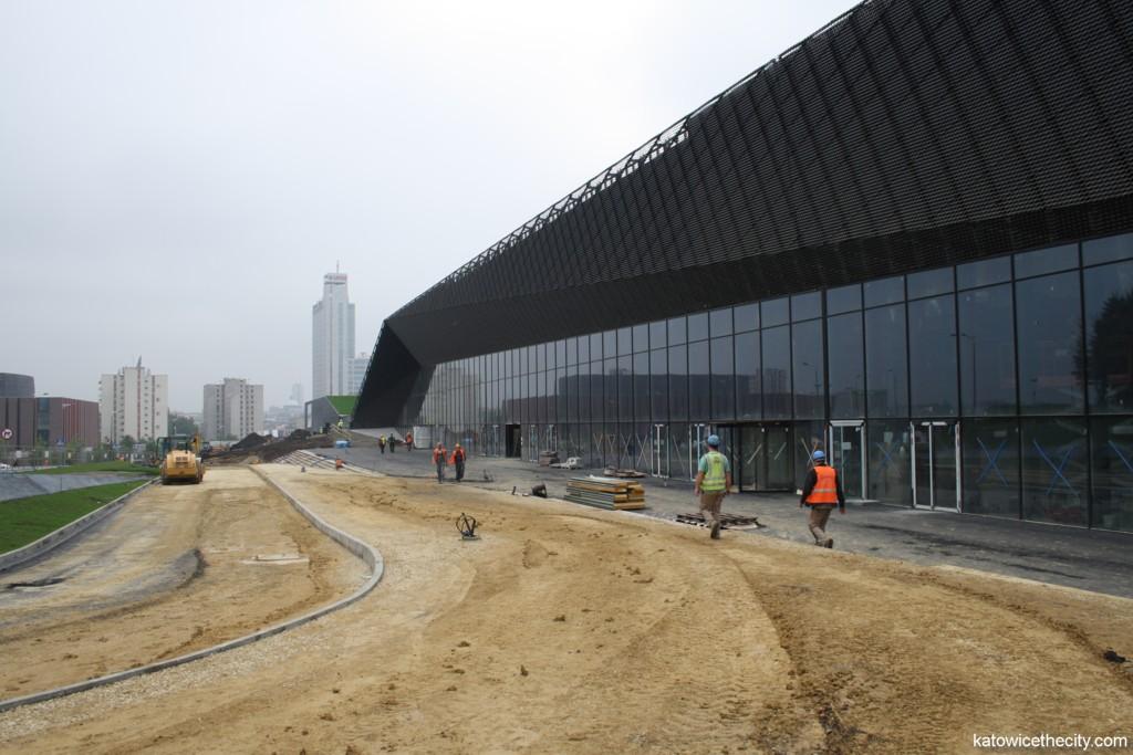 International Convention Center under construction