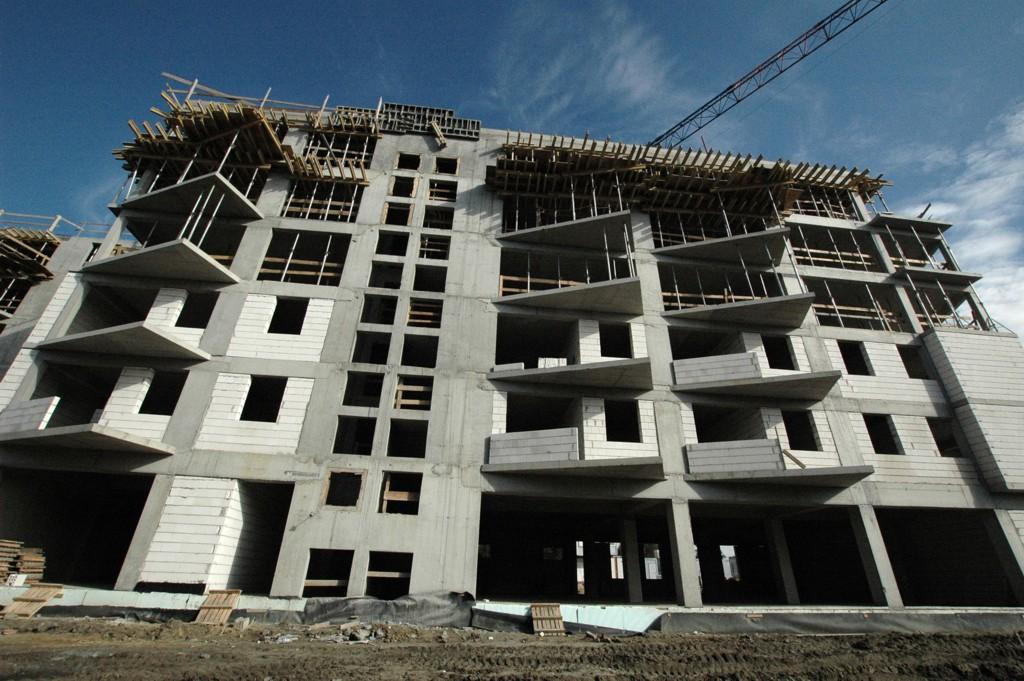© TDJ Estate; Franciszkańskie housing estate under construction
