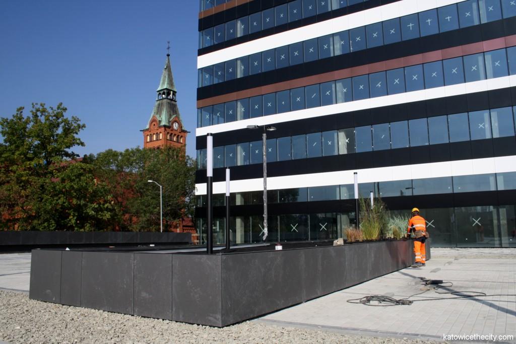 Silesia Business Park under construction