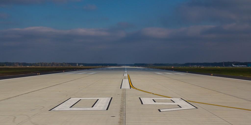 © Katowice International Airport; new runway at KTW