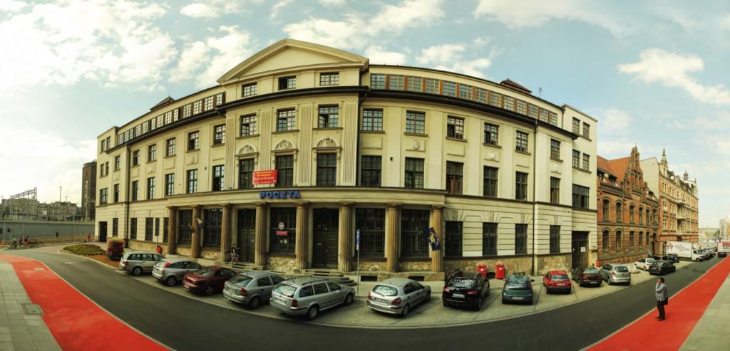 © Poczta Polska S.A.; building of Poczta Polska located at 9 Pocztowa St.