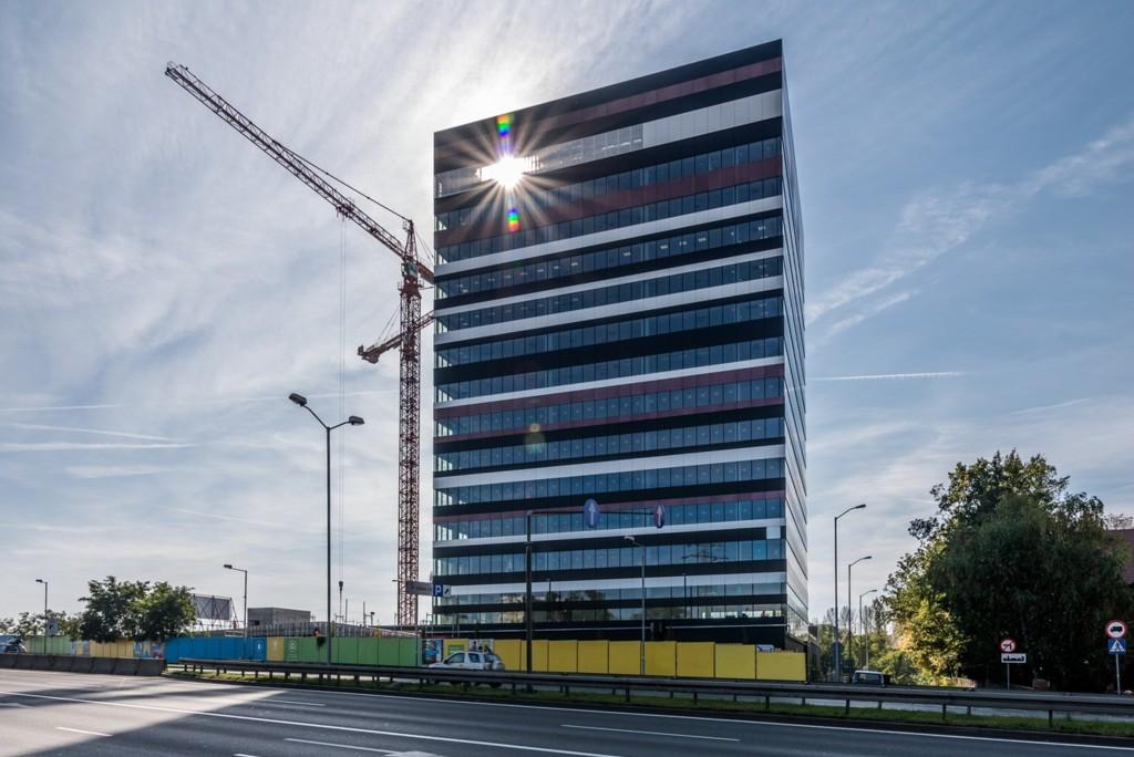 © Skanska Property Poland; first building of Silesia Business Park