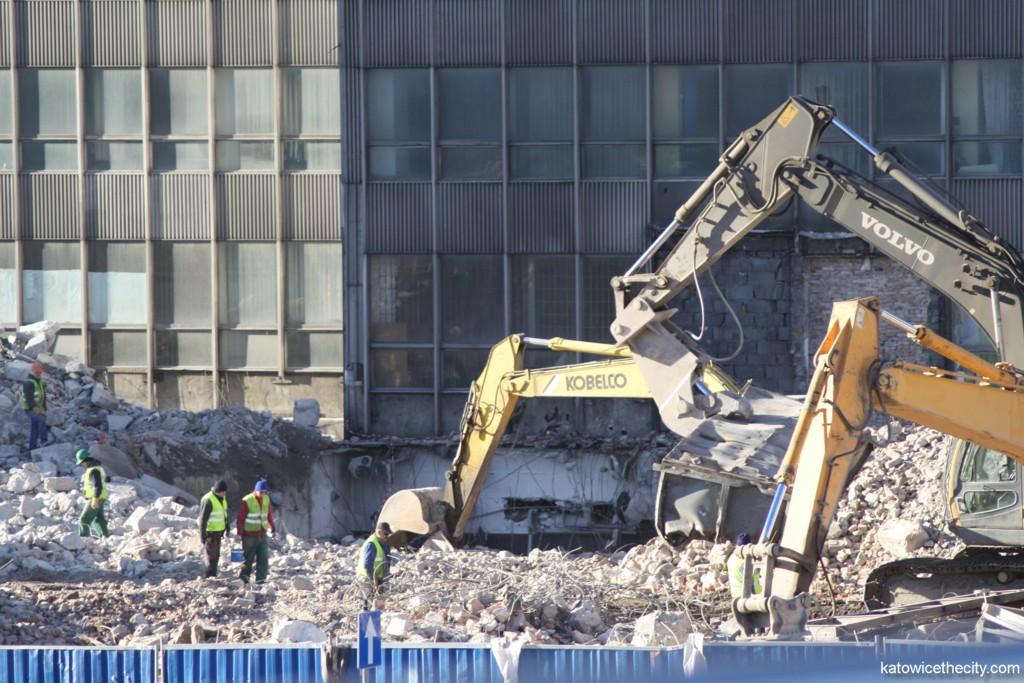 First stage of demolition works on DOKP