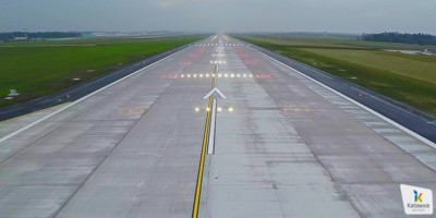 New runway at Katowice International Airport