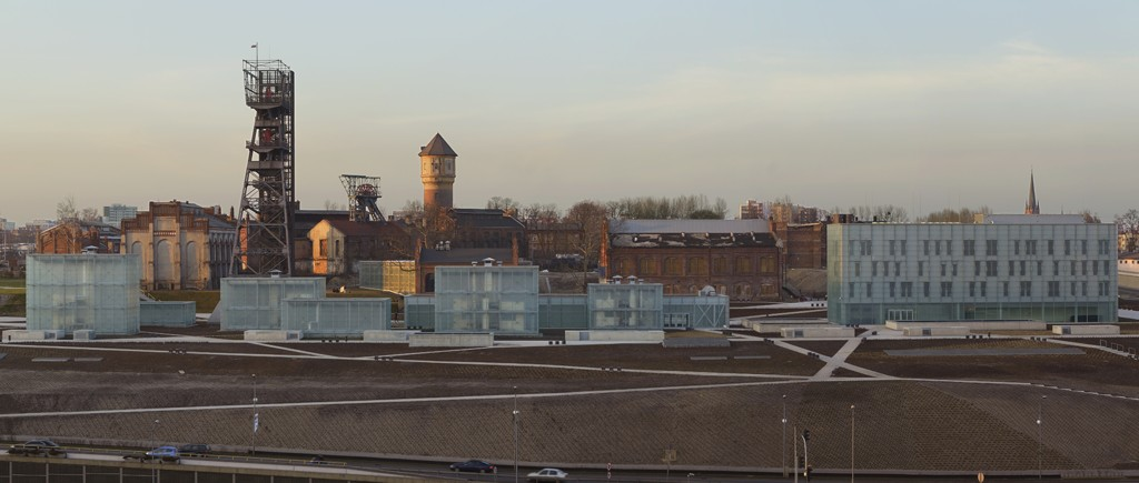 Silesian Museum, the bath house - second from the right, the water tower - in the middle, photo by Paolo Rosselli