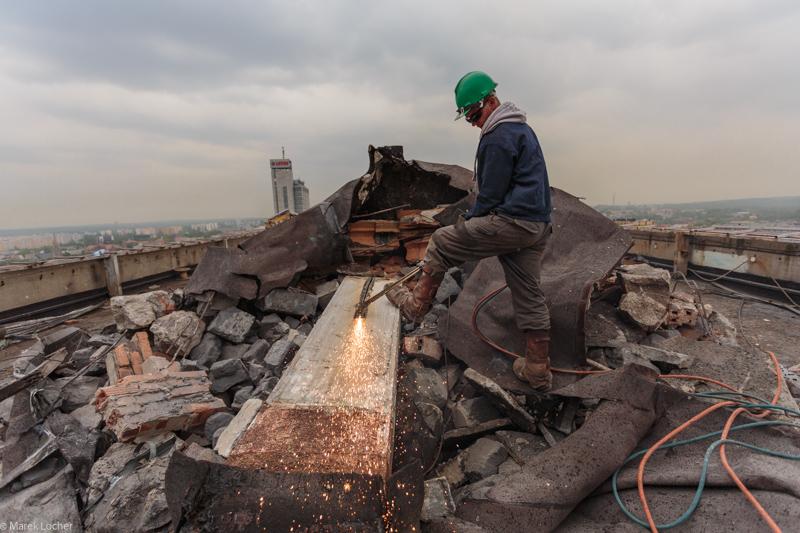 © TDJ Estate; demolition works on DOKP