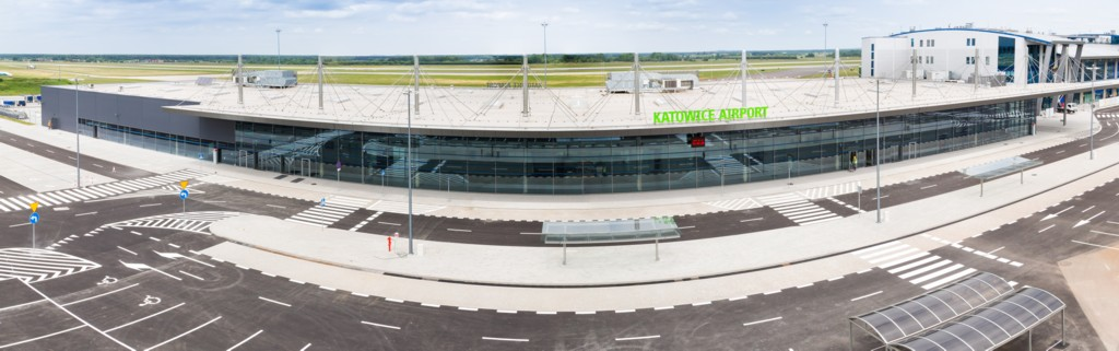 © Skanska; new terminal C at the Katowice International Airport