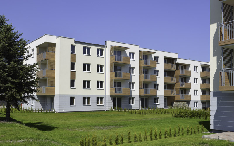 © Murapol; buildings of Murapol Bażantów erected within the I-IV stages