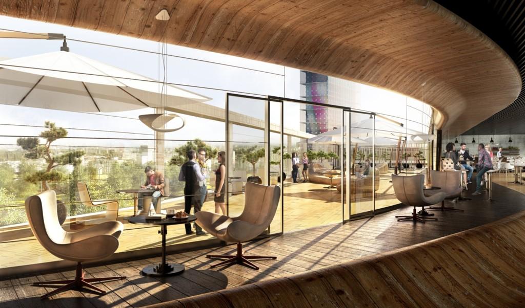 © Echo Investment; visualization of interior of Galeria Libero