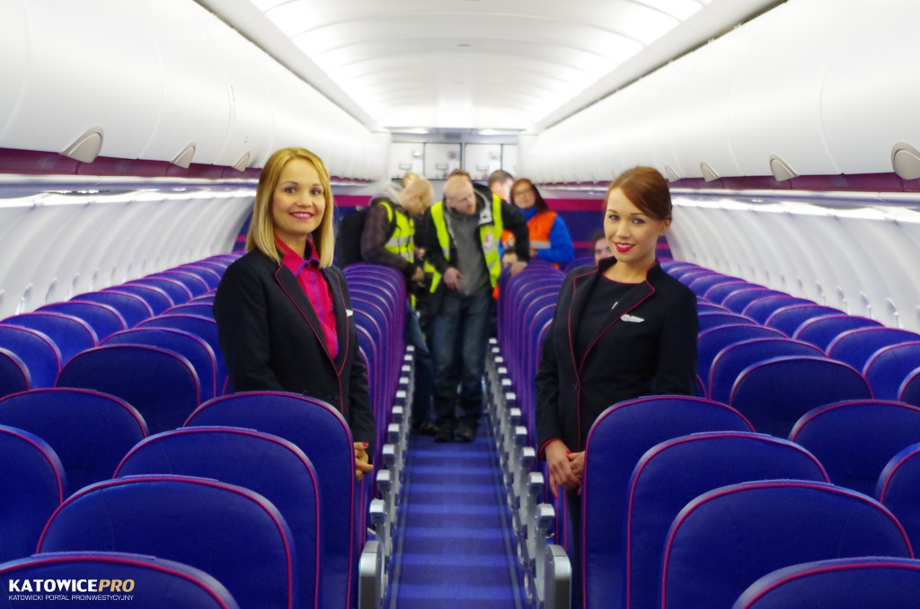 Wizz Air Presented Its Newest Airbus A321 At Ktw Katowice The City