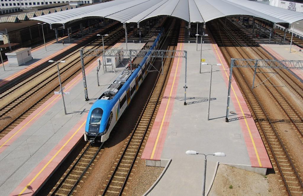 © PKP PLK; railway station in Katowice