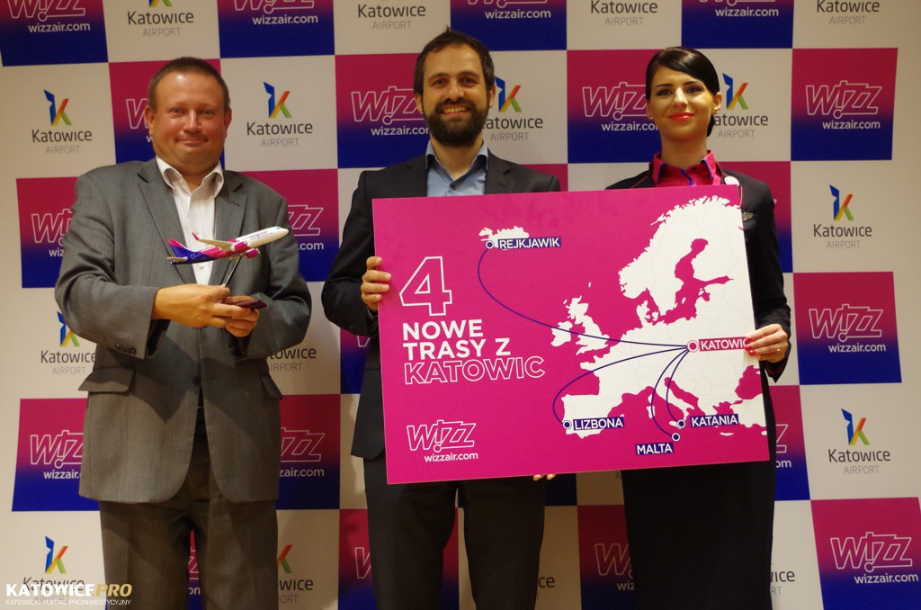 Wizz Air opens 4 new routes from Katowice Airport