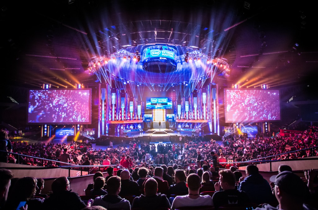 © Intel Extreme Masters; crowd during the tournament in Spodek